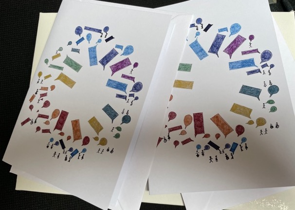 greetings cards with envelopes